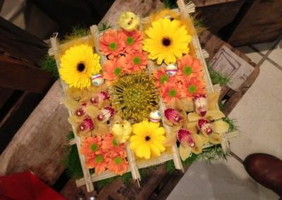 Compos Bouquets3 arums et des lys grau du roi