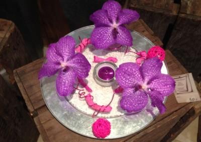 Compos Bouquets20 arums et des lys grau du roi