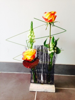Arums et des lys au grau du roi artisan fleuriste